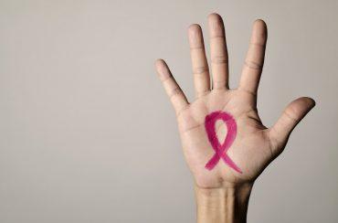 סרט המסמל את המלחמה בסרטן השד